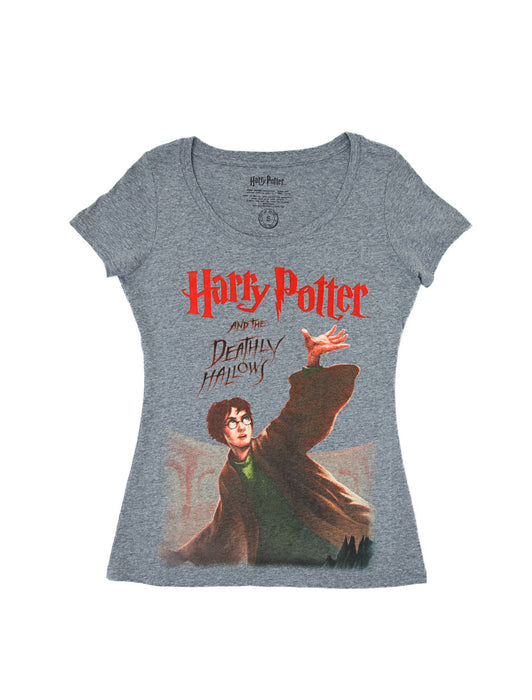 38951e72 Harry Potter and the Deathly Hallows women's t-shirt — Out of Print