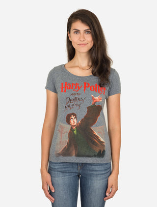 Harry Potter and the Deathly Hallows Women's Scoop T-Shirt