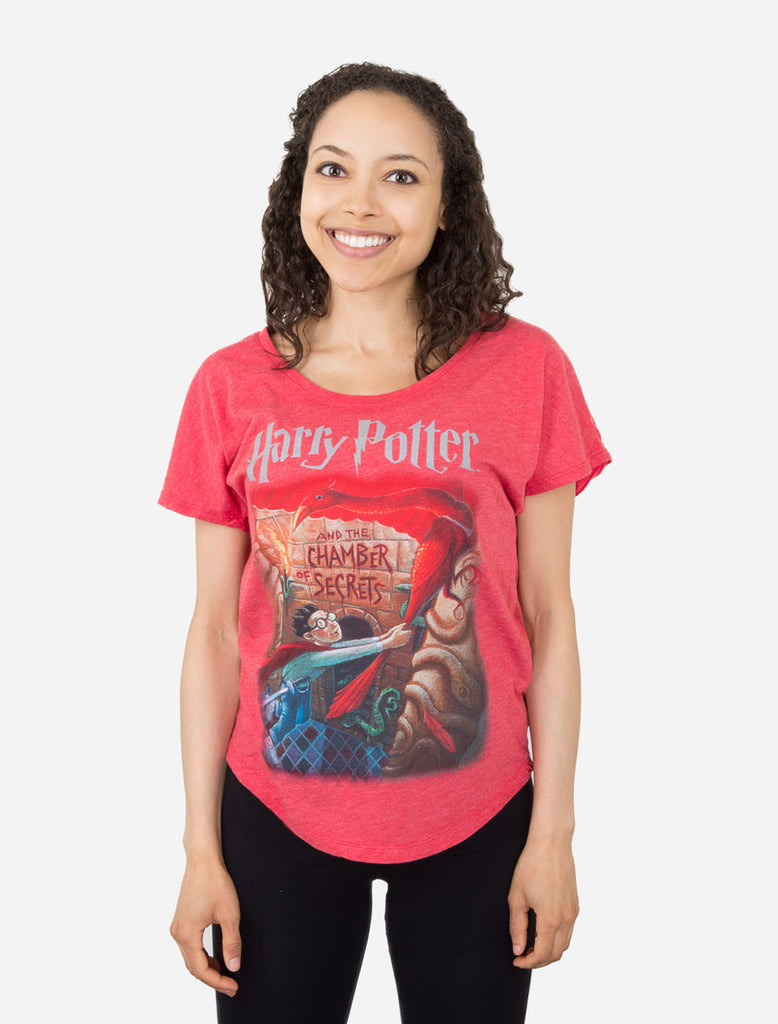 Harry Potter and the Chamber of Secrets Women's T-Shirt (Dolman)