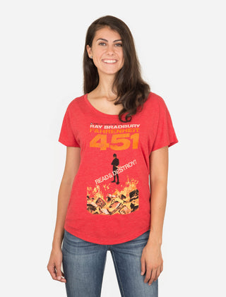 Fahrenheit 451 Women's Relaxed Fit T-Shirt