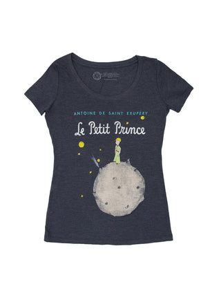 The Little Prince (Navy Blue) Women's Scoop T-Shirt