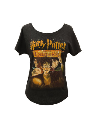 49d66df3e Harry Potter and the Goblet of Fire Women's Relaxed Fit T-Shirt ...