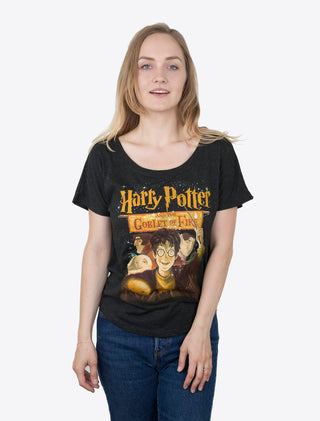 ce8798c3 ... Harry Potter and the Goblet of Fire Women's Relaxed Fit T-Shirt