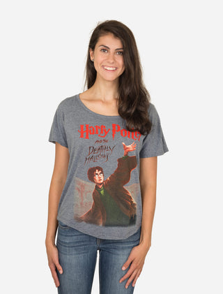 Harry Potter and the Deathly Hallows Women's Relaxed Fit T-Shirt