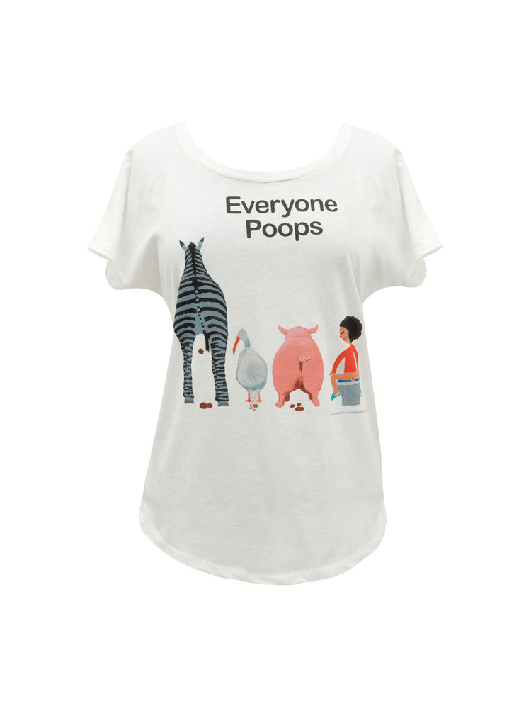 Everyone Poops Women's Relaxed Fit T-Shirt
