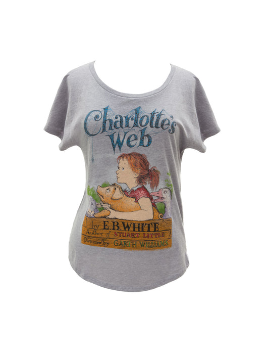 846e30305b72 Charlotte's Web women's relaxed fit t-shirt — Out of Print