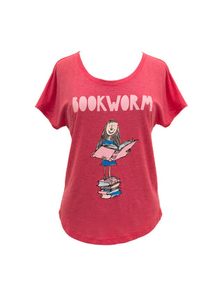 Matilda Bookworm Women's Relaxed Fit T-Shirt