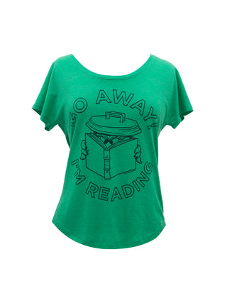Oscar the Grouch - Go Away I'm Reading Women's Relaxed Fit T-Shirt
