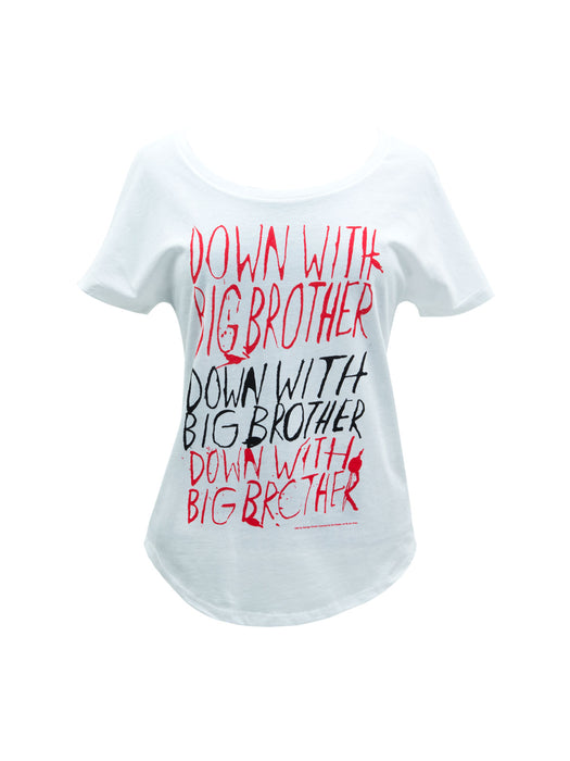 Down with Big Brother (1984) Women's Relaxed Fit T-Shirt