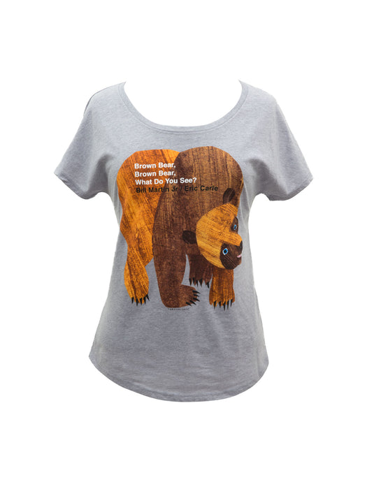 World of Eric Carle Brown Bear, Brown Bear Women's Relaxed Fit T-Shirt