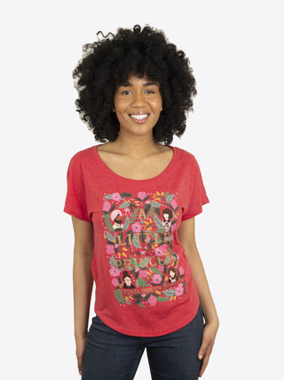 A Little Princess (Puffin in Bloom) Women's Relaxed Fit T-Shirt