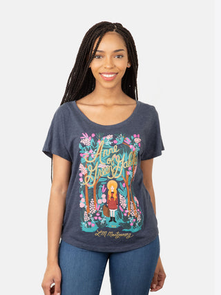 Anne of Green Gables (Puffin in Bloom) Women's Relaxed Fit T-Shirt