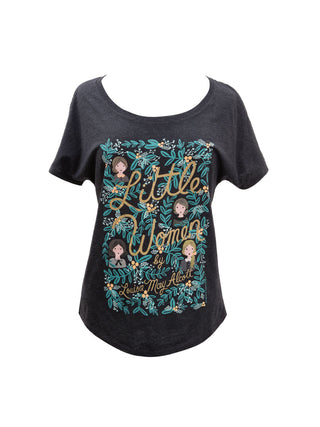 Little Women (Puffin in Bloom) Women's Relaxed Fit T-Shirt