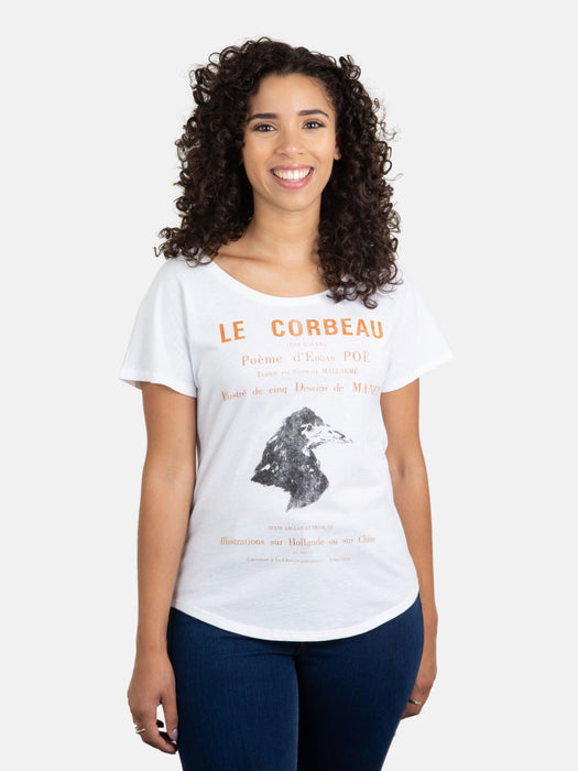 The Raven (French Edition) Women's Relaxed Fit T-Shirt