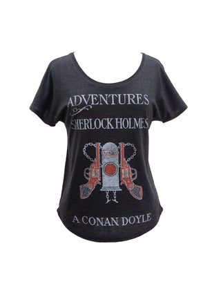 984a01c52 Adventures of Sherlock Holmes Women's Relaxed Fit T-Shirt ...