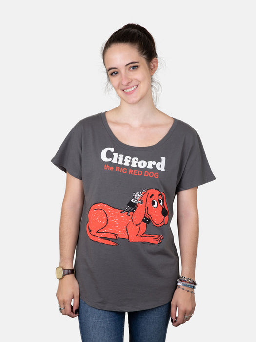 Clifford the Big Red Dog Women's Relaxed Fit T-Shirt