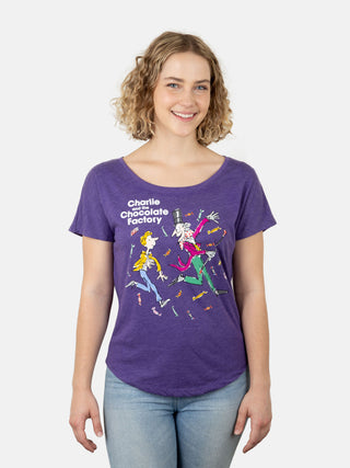 Charlie and the Chocolate Factory Women's Relaxed Fit T-Shirt