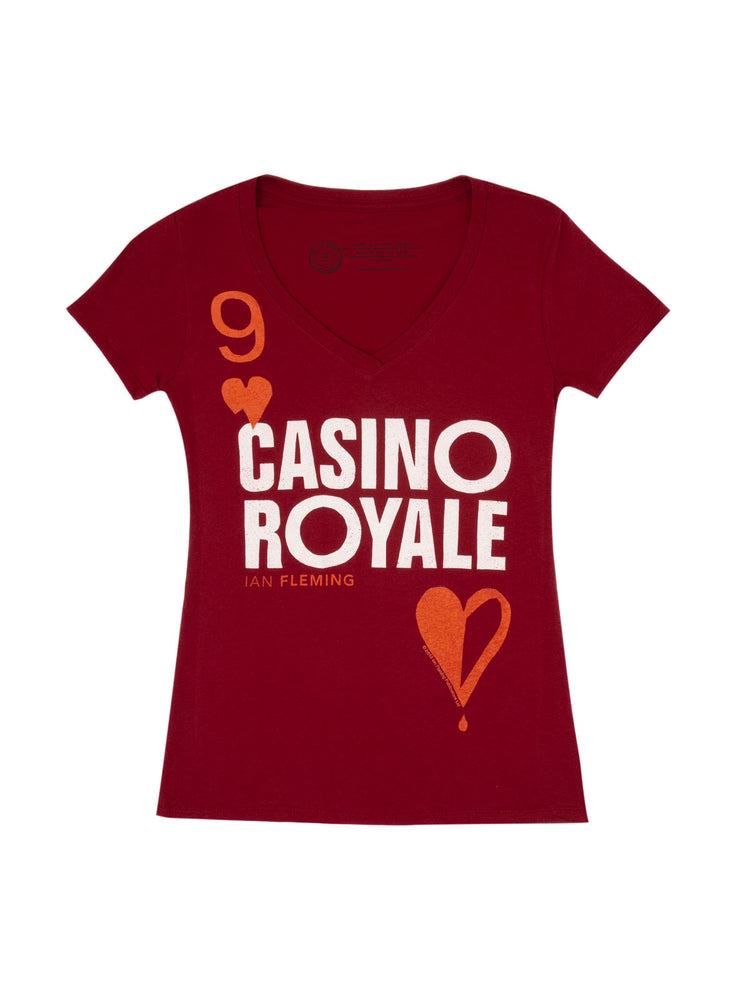 Casino Royale Women's V-Neck T-Shirt