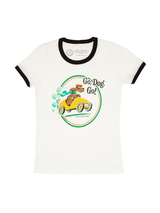Go, Dog. Go! Women's Ringer T-Shirt