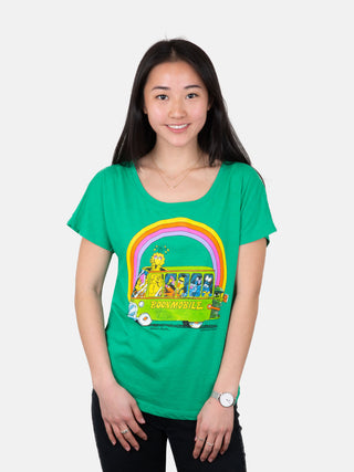 Sesame Street Bookmobile Women's Relaxed Fit T-Shirt