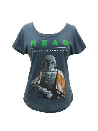 Boba Fett Star Wars READ Women's Relaxed Fit T-Shirt