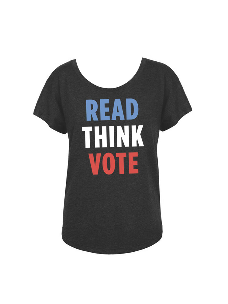 Read Think Vote Women's Relaxed Fit T-Shirt