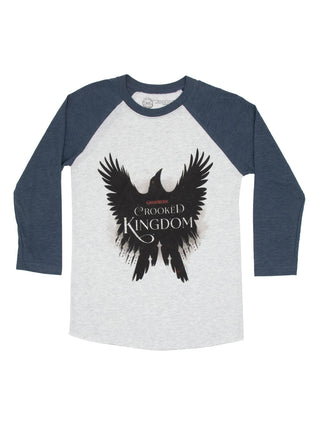 Crooked Kingdom Unisex 3/4-Sleeve Raglan