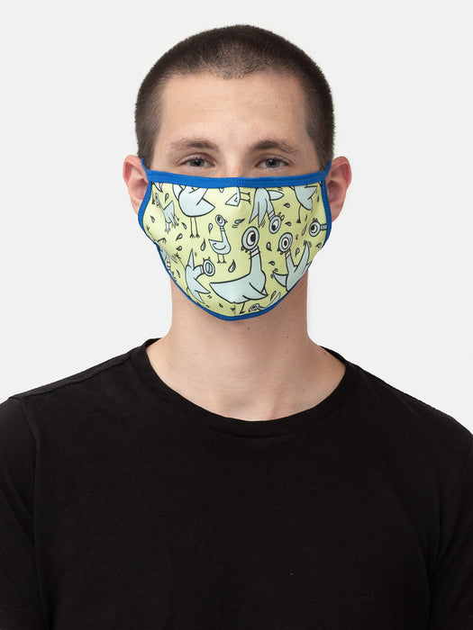 The Pigeon adult face mask