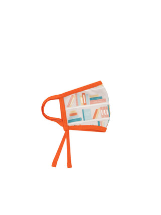 Bookshelf adult face mask (adjustable)