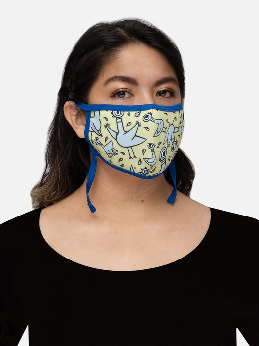 The Pigeon adult face mask (adjustable)