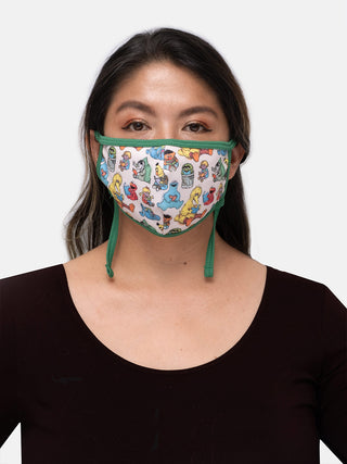 Sesame Street adult face mask (adjustable)