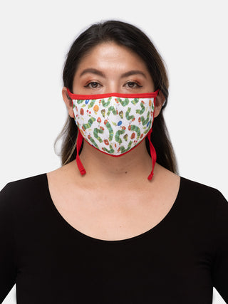 The Very Hungry Caterpillar adult face mask (adjustable)