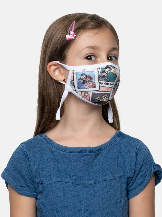 The Baby-Sitters Club kids' face mask (adjustable)
