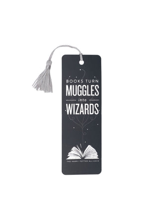 Books Turn Muggles into Wizards bookmark