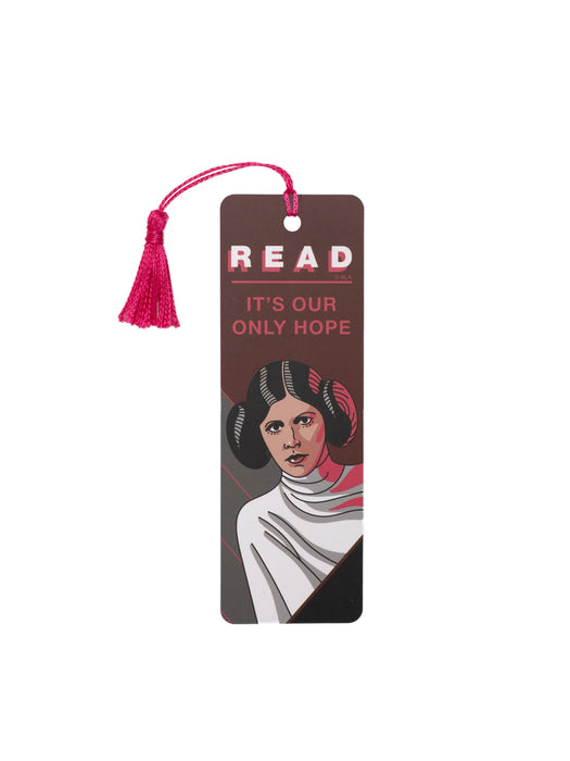 Princess Leia Star Wars READ bookmark