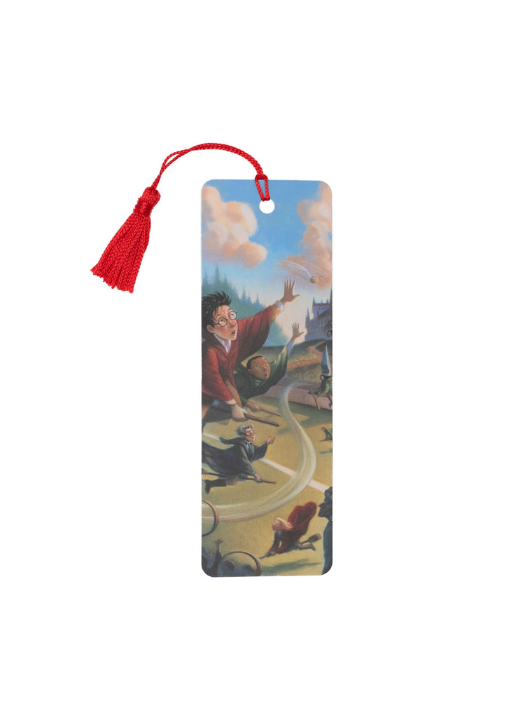 Quidditch Harry Potter bookmark