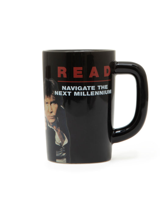 Han Solo and Chewbacca Star Wars READ mug
