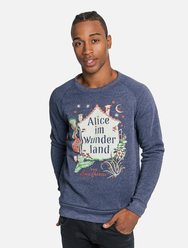 Alice in Wonderland: German Edition unisex sweatshirt