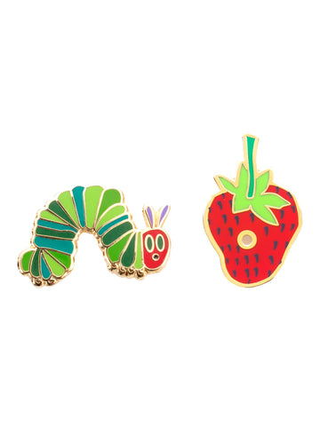 The Very Hungry Caterpillar Enamel Pin Set