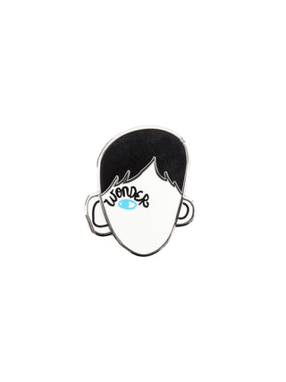 Wonder enamel pin