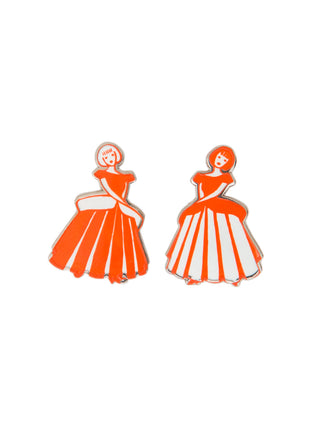 Little Women enamel pin set