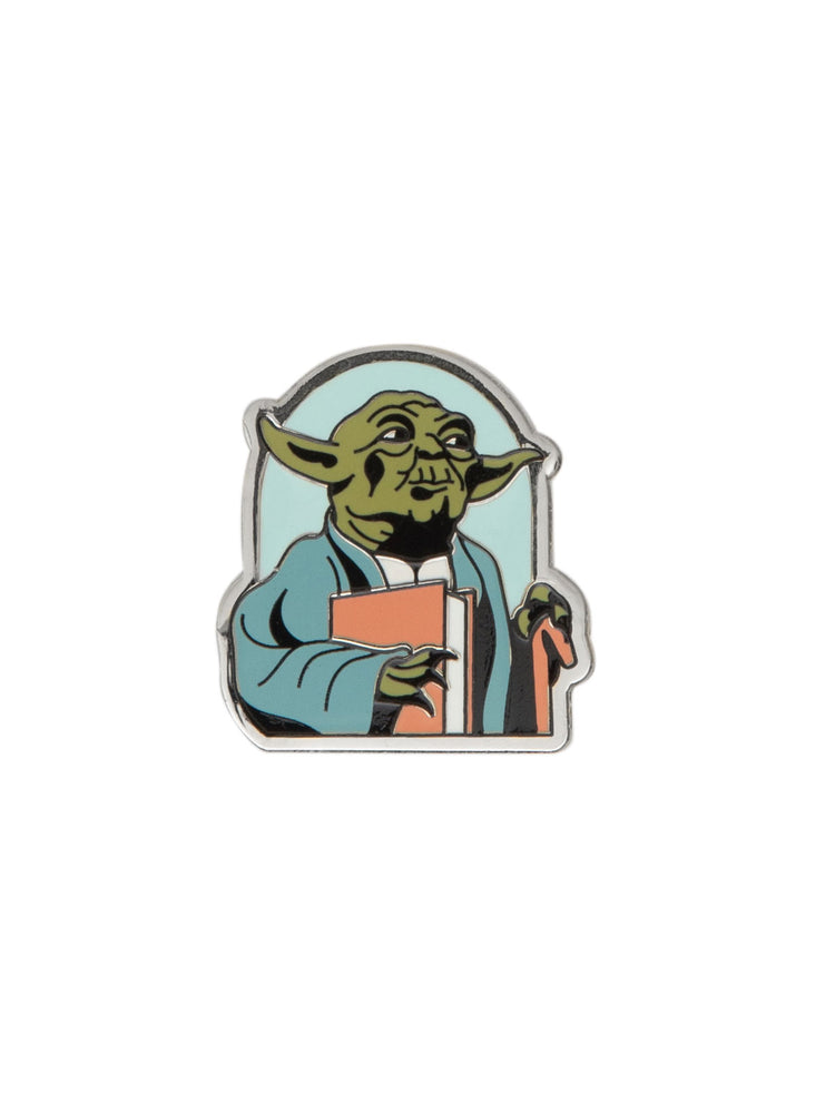 Yoda Star Wars READ enamel pin