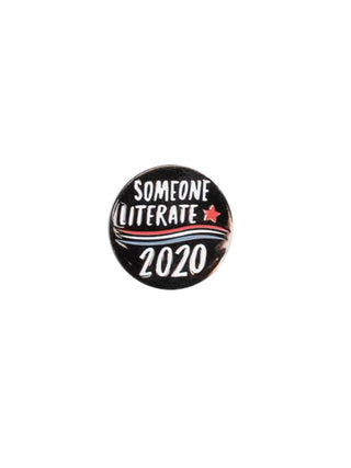 Someone Literate 2020 enamel pin