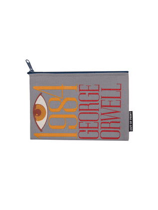 1984 book cover pouch/clutch - front image