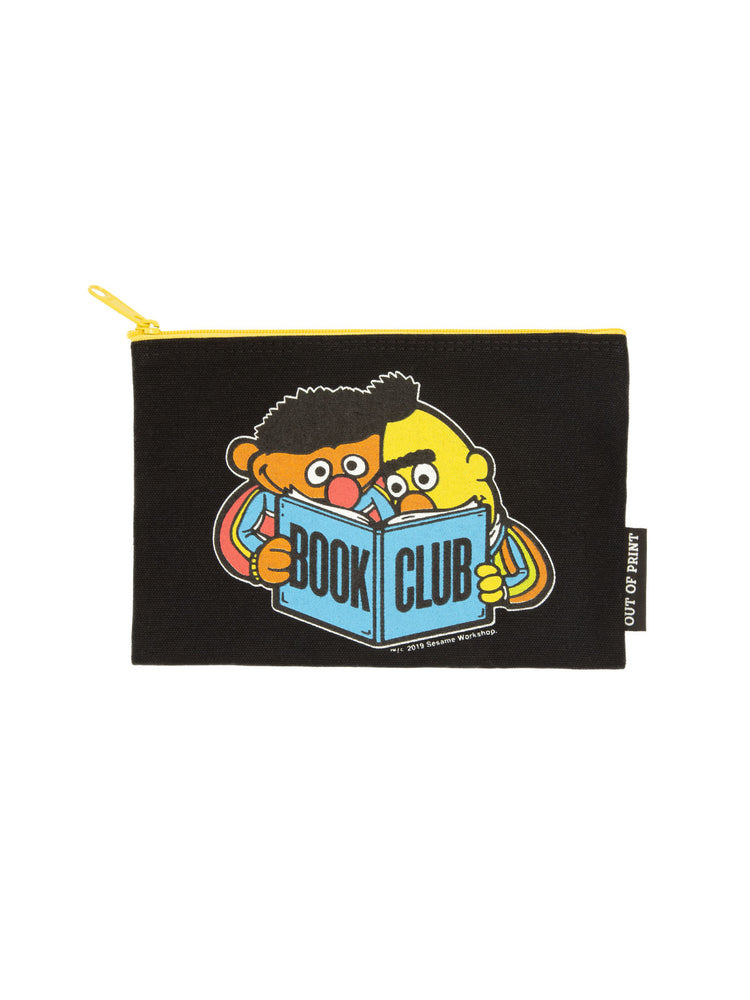Bert and Ernie Book Club pouch
