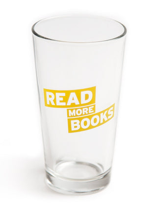 Read More Books Pint Glass