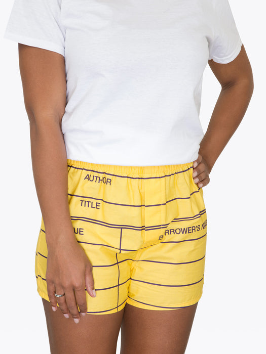Library Card Unisex Boxers