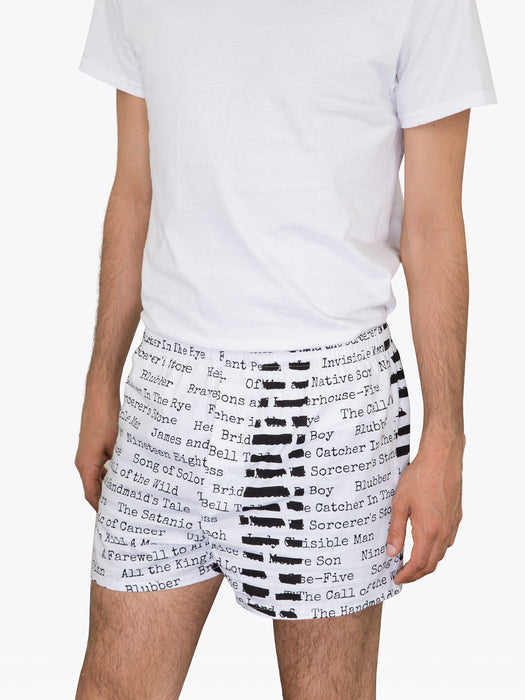 Banned Books Unisex Boxers