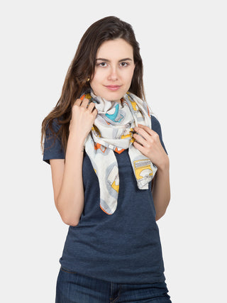Typewriter Lightweight Scarf