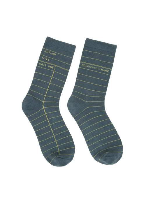 Library gray socks (small only)